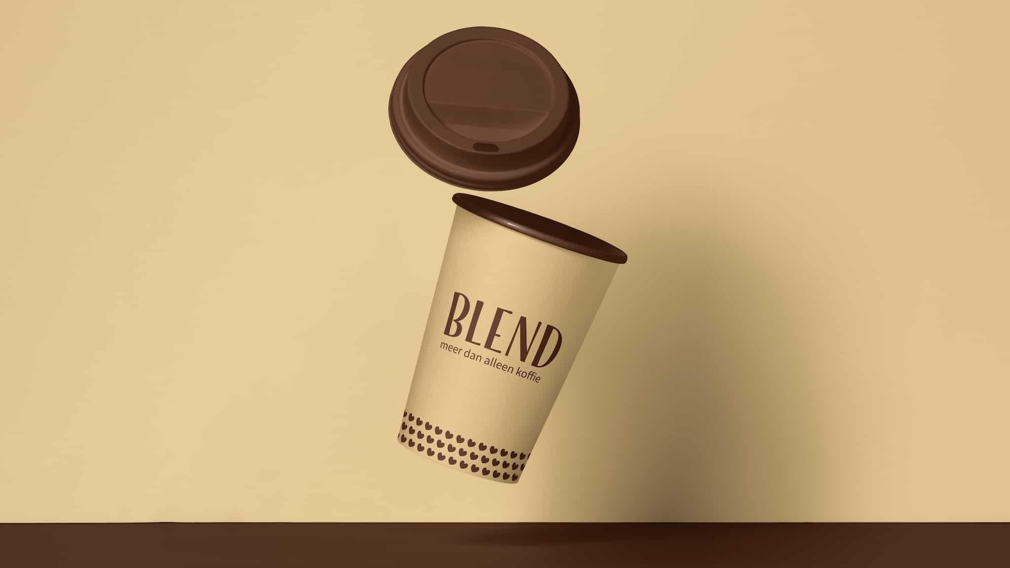 Larkom Blend koffie beker v1