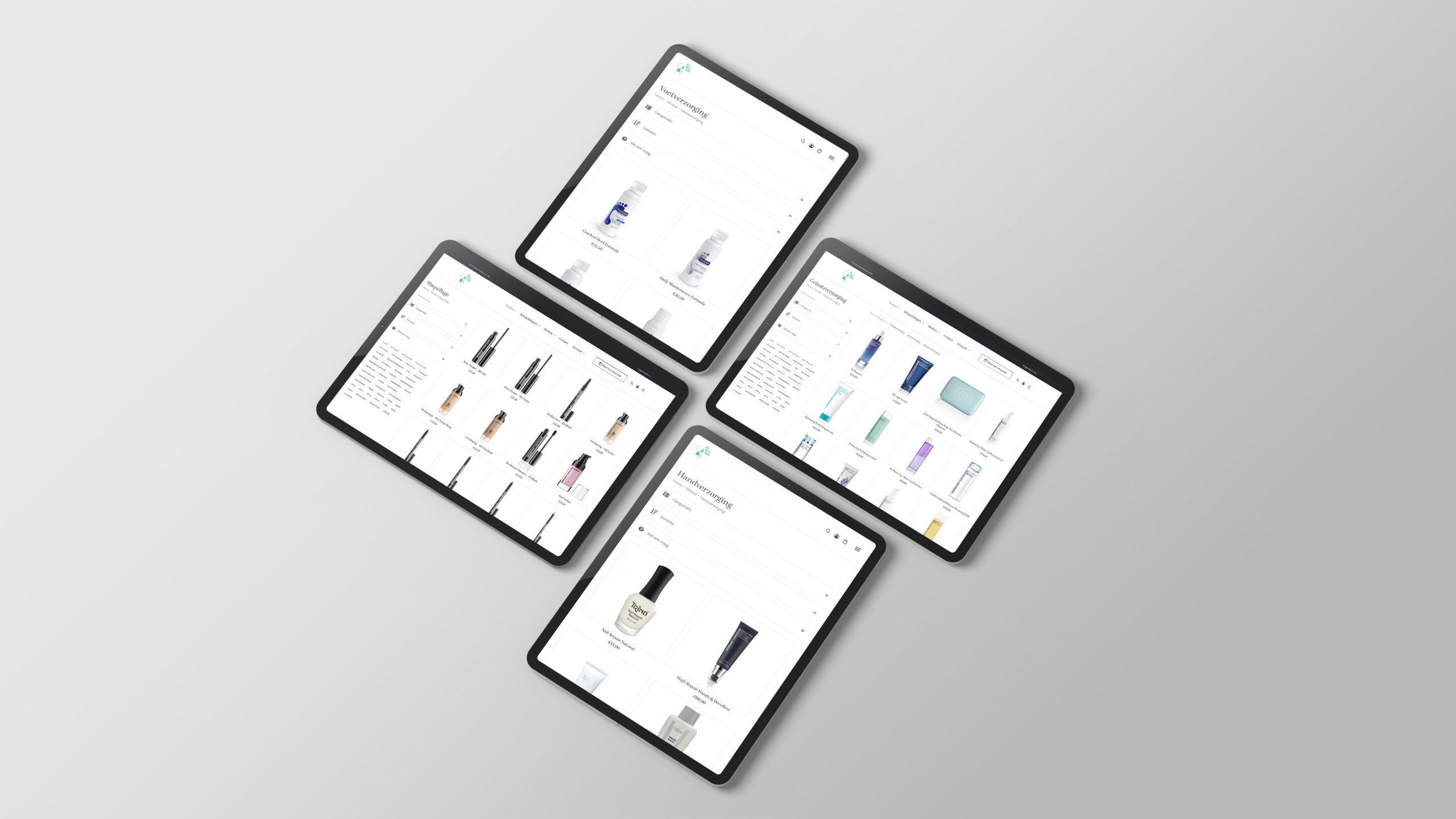 Larkom Webdesign in Londerzeel All Nele Care webshop portfolio 00002 1
