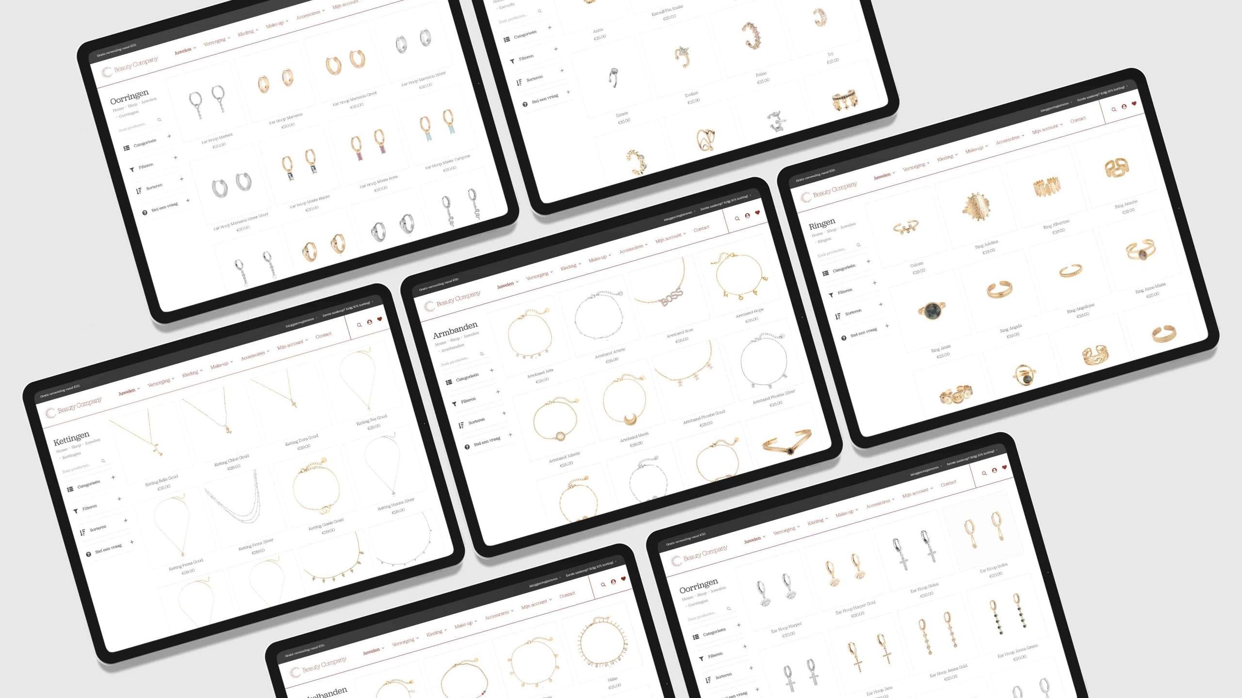 Larkom Webdesign in Londerzeel portfolio Beauty Company webshop portfolio 00004 scaled